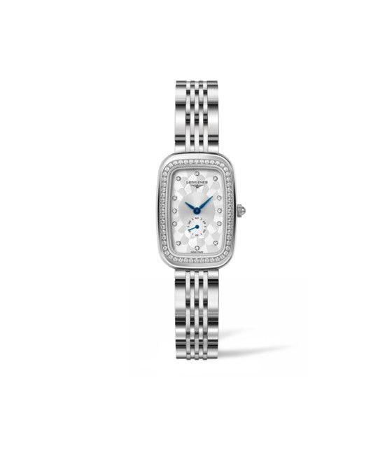 22.00 X 32.00 mm Edelstahl case with Silber dial and Edelstahl strap