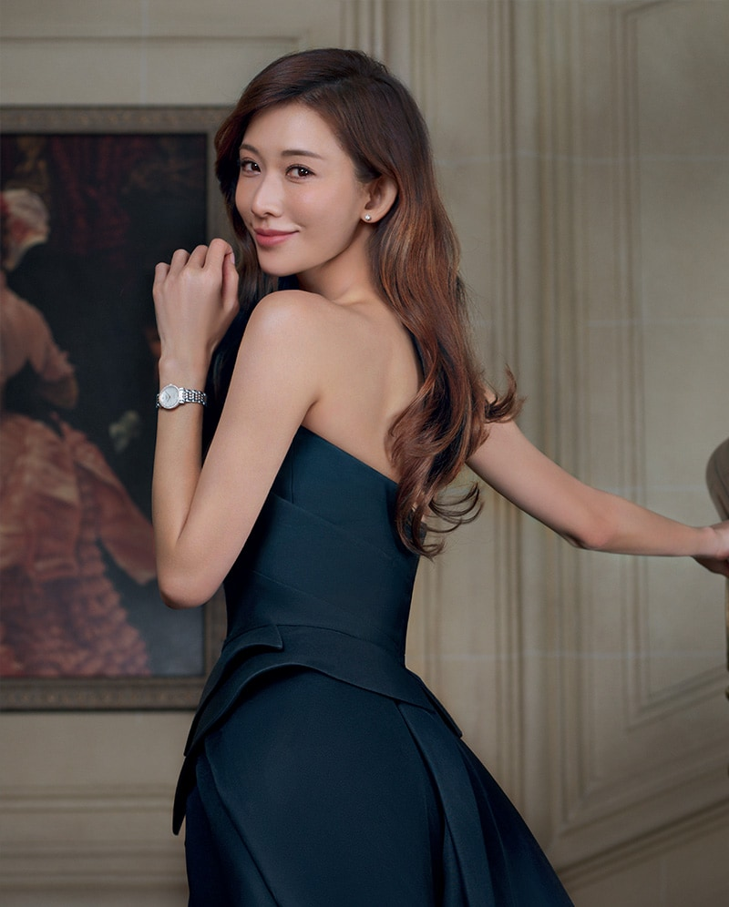 Chi Ling Lin Longines botschafter