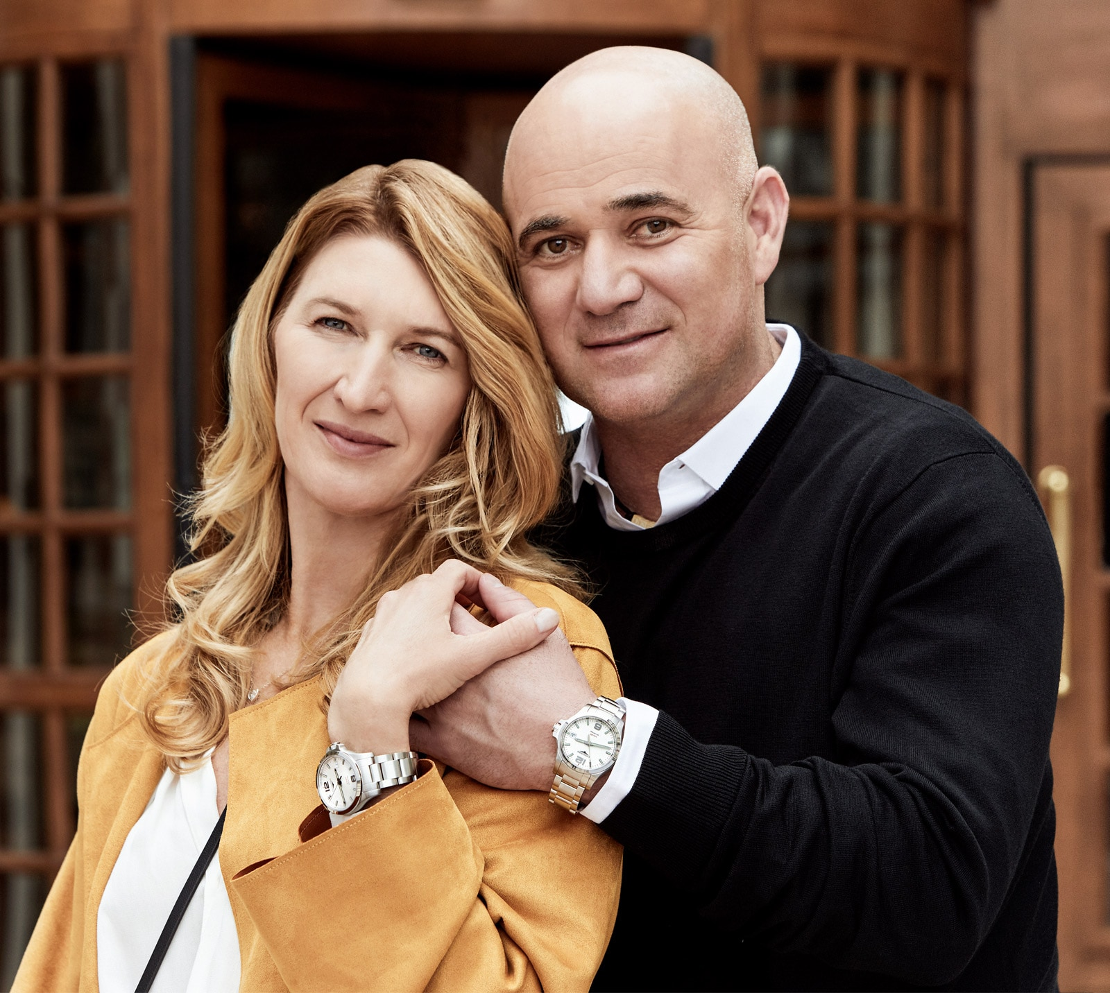 Andre Agassi ambassador of the Longines Master Collection watch