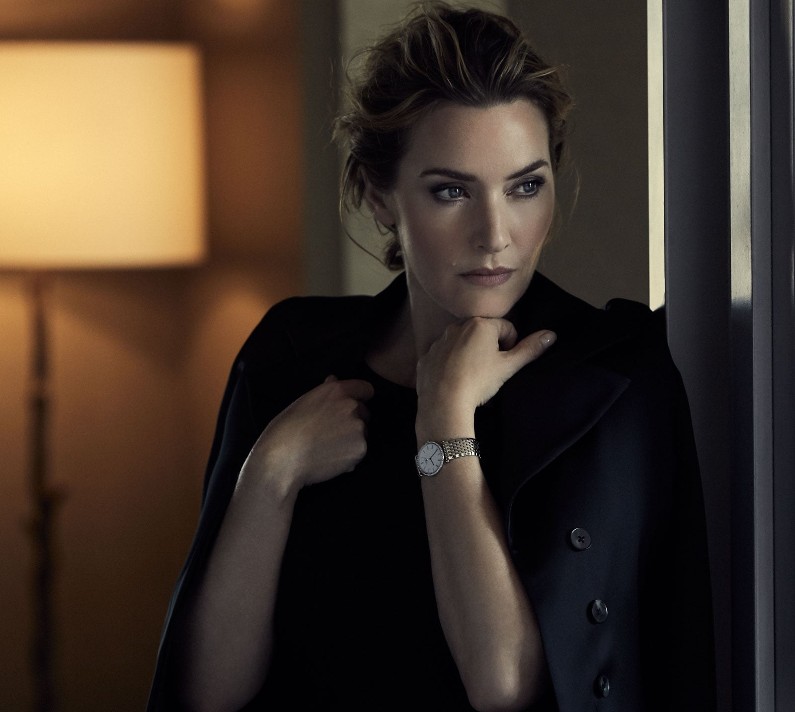 Kate Winslet ambassador of the Longines DolceVita watch