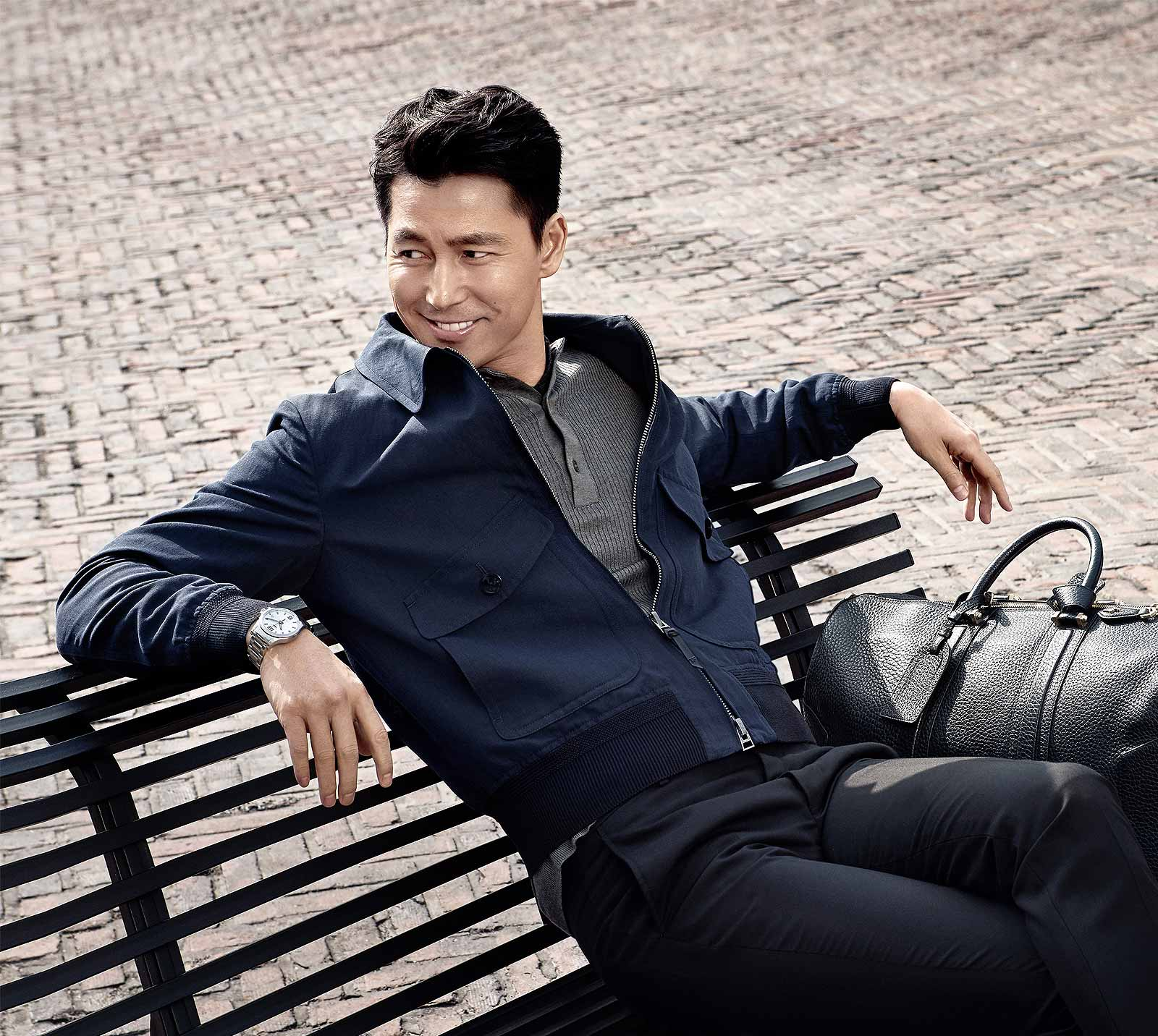 The South Korean actor Jung Woo Sung has been appointed as Longines Ambassador of Elegance