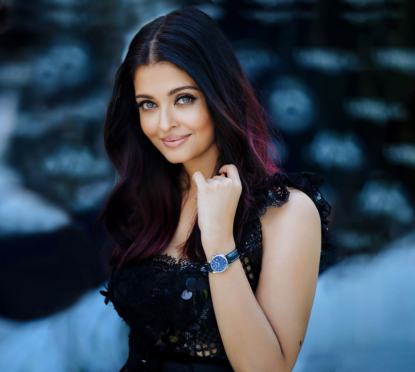 Aishwarya Rai Bachchan ambassador of the Longines PrimaLuna watch