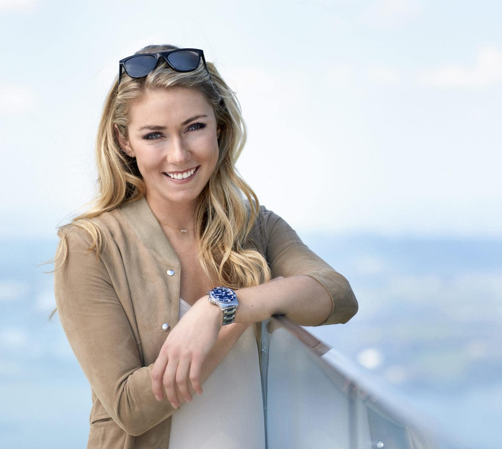 Mikaela Shiffrin ambassador of the Conquest Classic watch