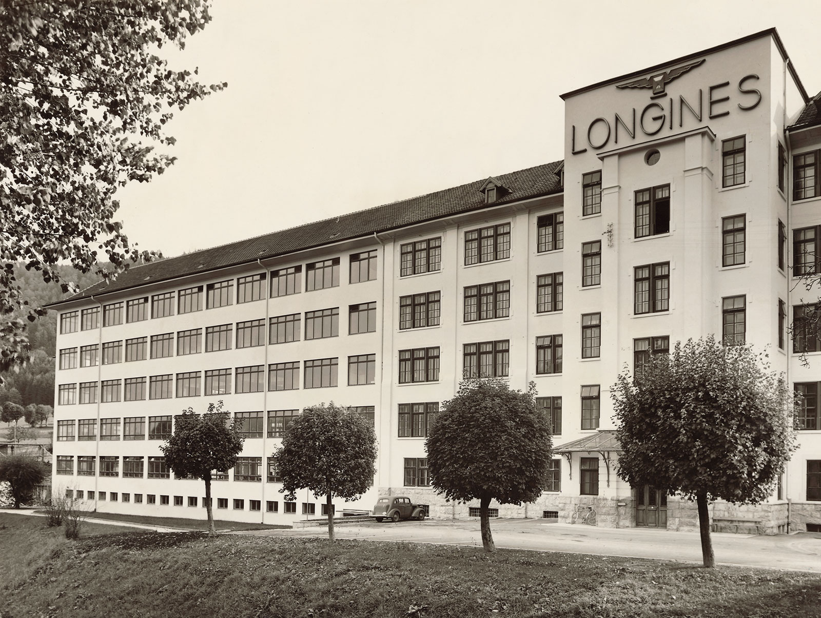 The Longines factory in 1950