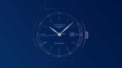 Longines watch - Datumszeiger