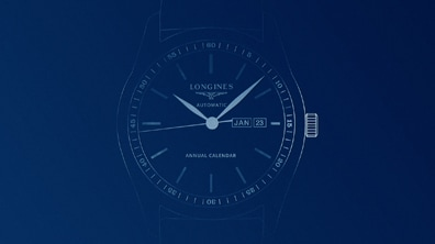 Longines watch - calendar