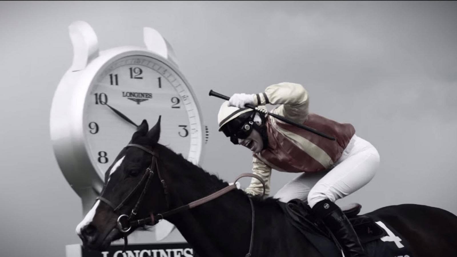 new horseracing TV spot,Longines DolceVita;2016