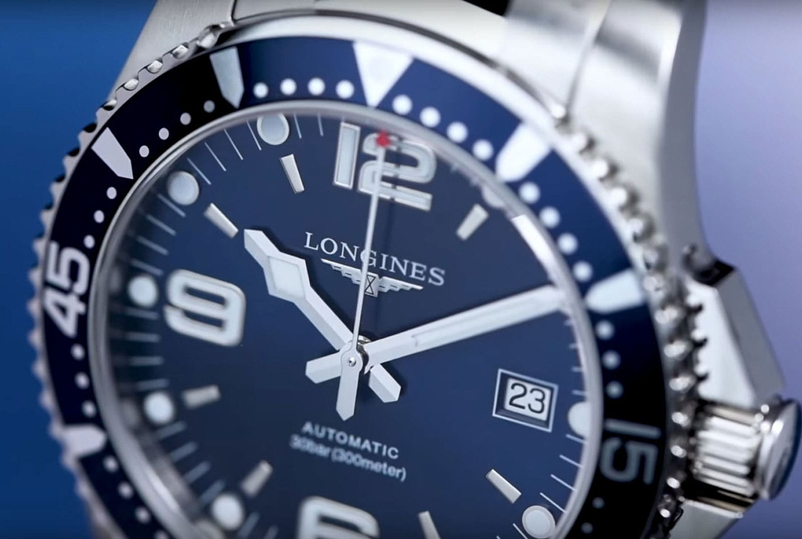 The Longines HydroConquest - Blue Model; Product; 2017