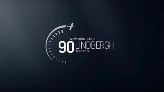 Lindbergh90th;New watch; Heritage; New-York; Paris; Port of Saint-Louis