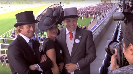 Longines Ambassador Simon Baker at Royal Ascot 2015
