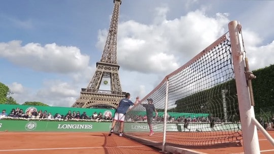 Video Longines Futur Tennis Aces 2015
