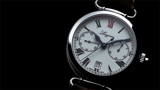 Video Baselworld 2014 - The Longines Column-Wheel Single Push-Piece Chronograph