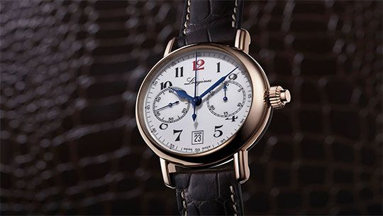 Video The Longines Column-Wheel Chronograph