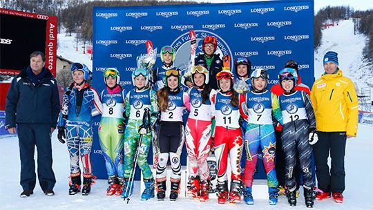 Video Longines Future Ski Champions 2014