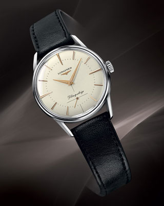 1957 longines elegant flagship collection