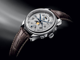 2011 longines master collection retrograde moonphase