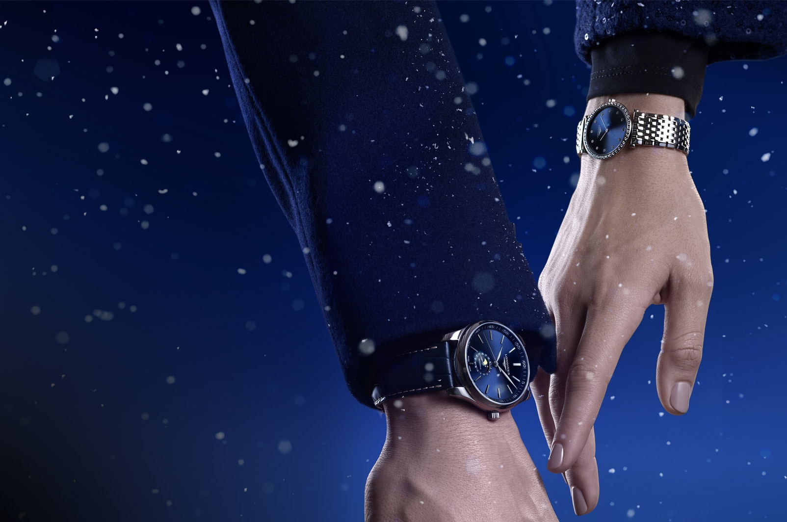 Explore the season's greetings collection of Longines
