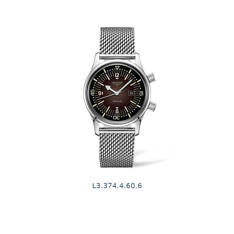 The Longines Legend Diver Watch - L3.374.4.60.6