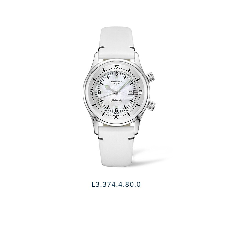 The Longines Legend Diver Watch - L3.374.4.80.0