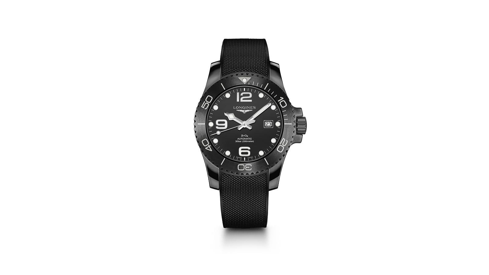 new; all-ceramic version;Longines HydroConquest collection