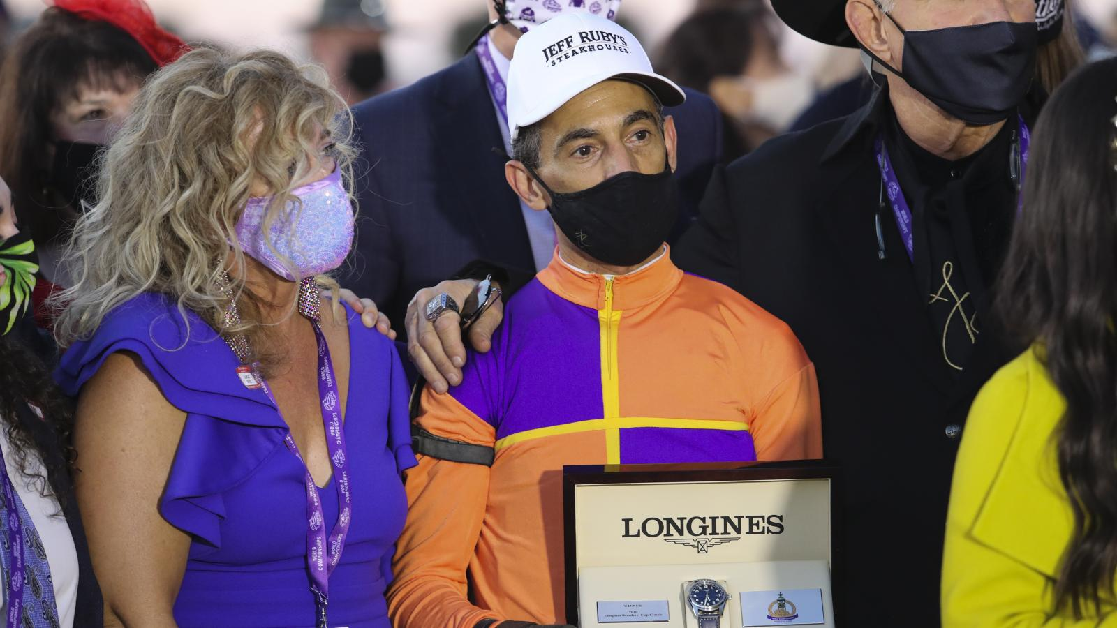 Longines was proud to time the victory of Authentic, ridden by John Velazquez, in the 37th Longines Breeders Cup Classic in Lexington, KY on November 7th.