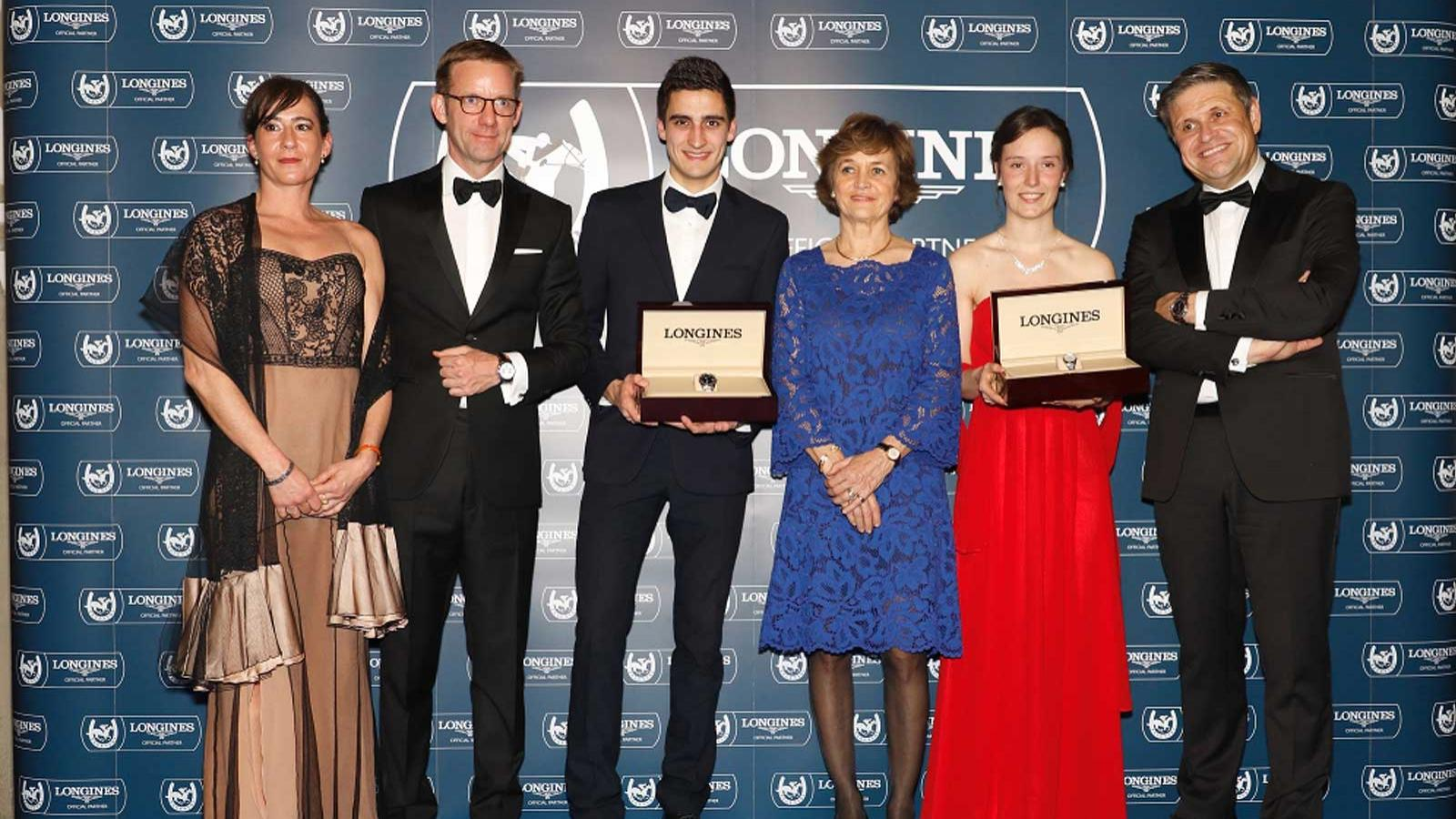 Fegentri general Assembly & Longines World Fegentri Championships for  Gentlemen and Ladies riders award ceremony; Horse Racing; Award; 2018