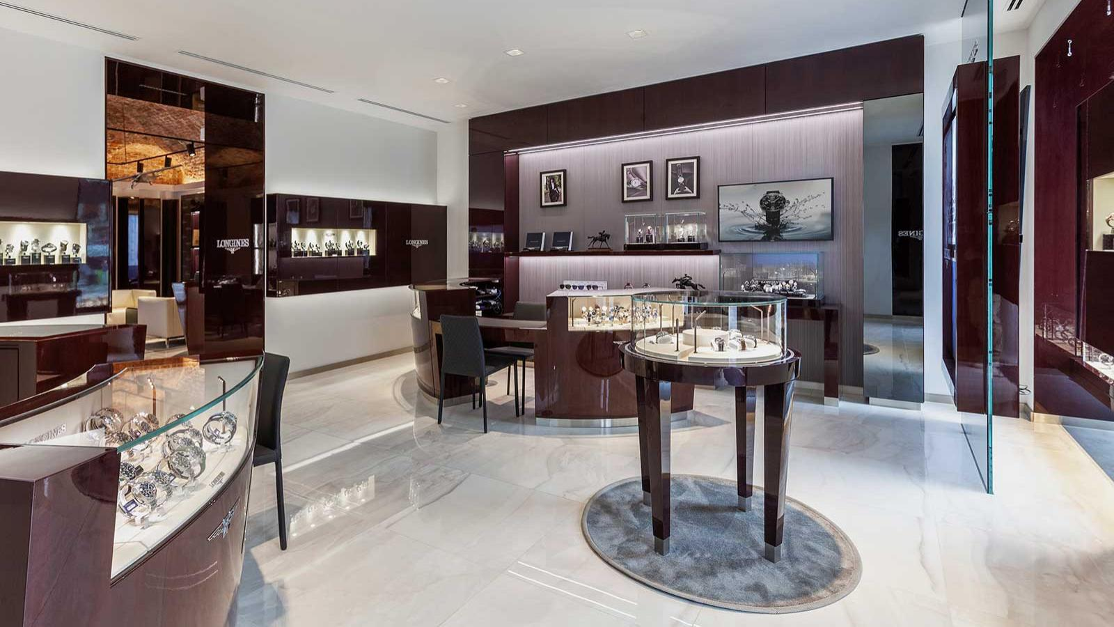 Grand Opening of Longines'; first corporate Boutique; Moscow