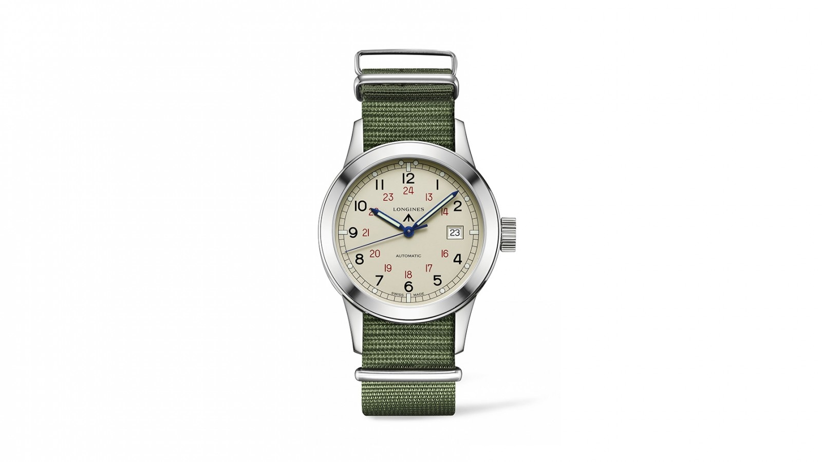 The Longines Heritage Military COSD; L2.832.4.73.5; Images