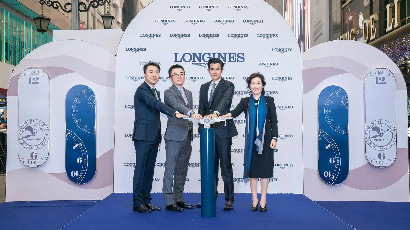 Inauguration of a new Longines Boutique in Chengdu in presence of Eddie Peng; Chengdu; China; 2019