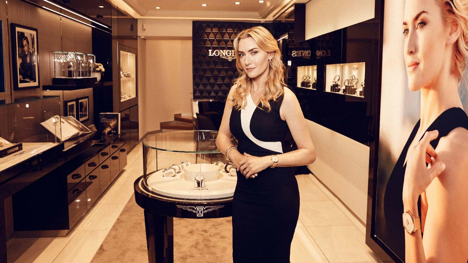 Kate Winslet; The Flagship Heritage – 60th Anniversary 1957-2017; the Golden Hat Foundation;