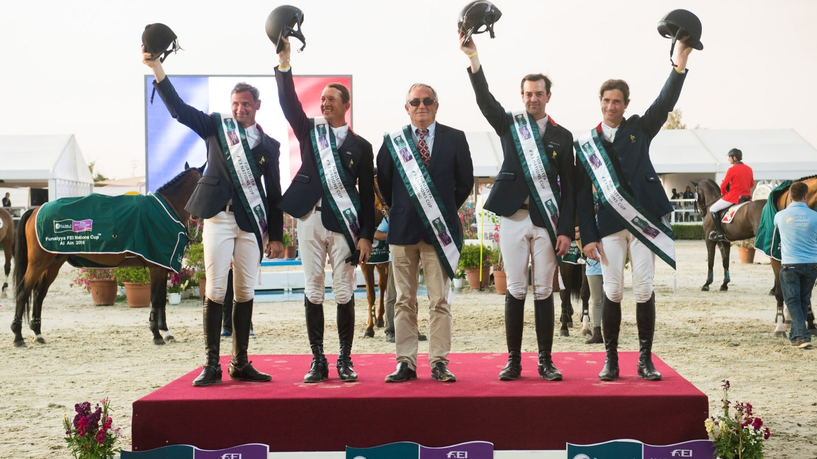 Longines ensured an elegant display of equestrian sports at the President of the UAE Show Jumping Cup presented by Longines, France, Furusiyya FEI Nations Cup, Grand Prix, Official Partner
