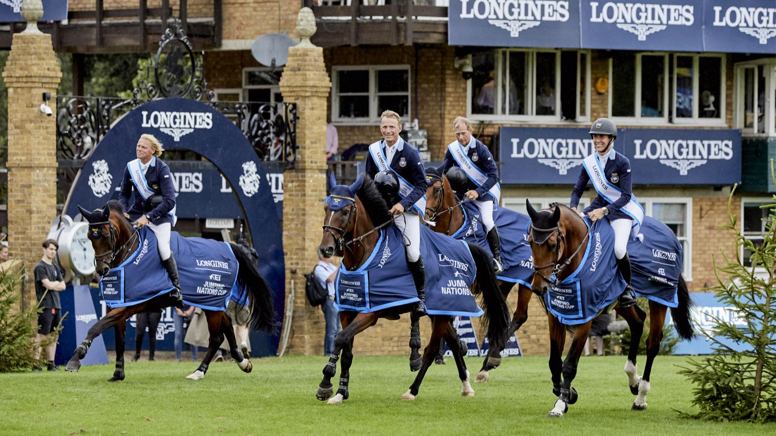 Longines FEI Jumping Nations Cup of Great Britain The Longines Royal International Horse Show; Jumping; 2019