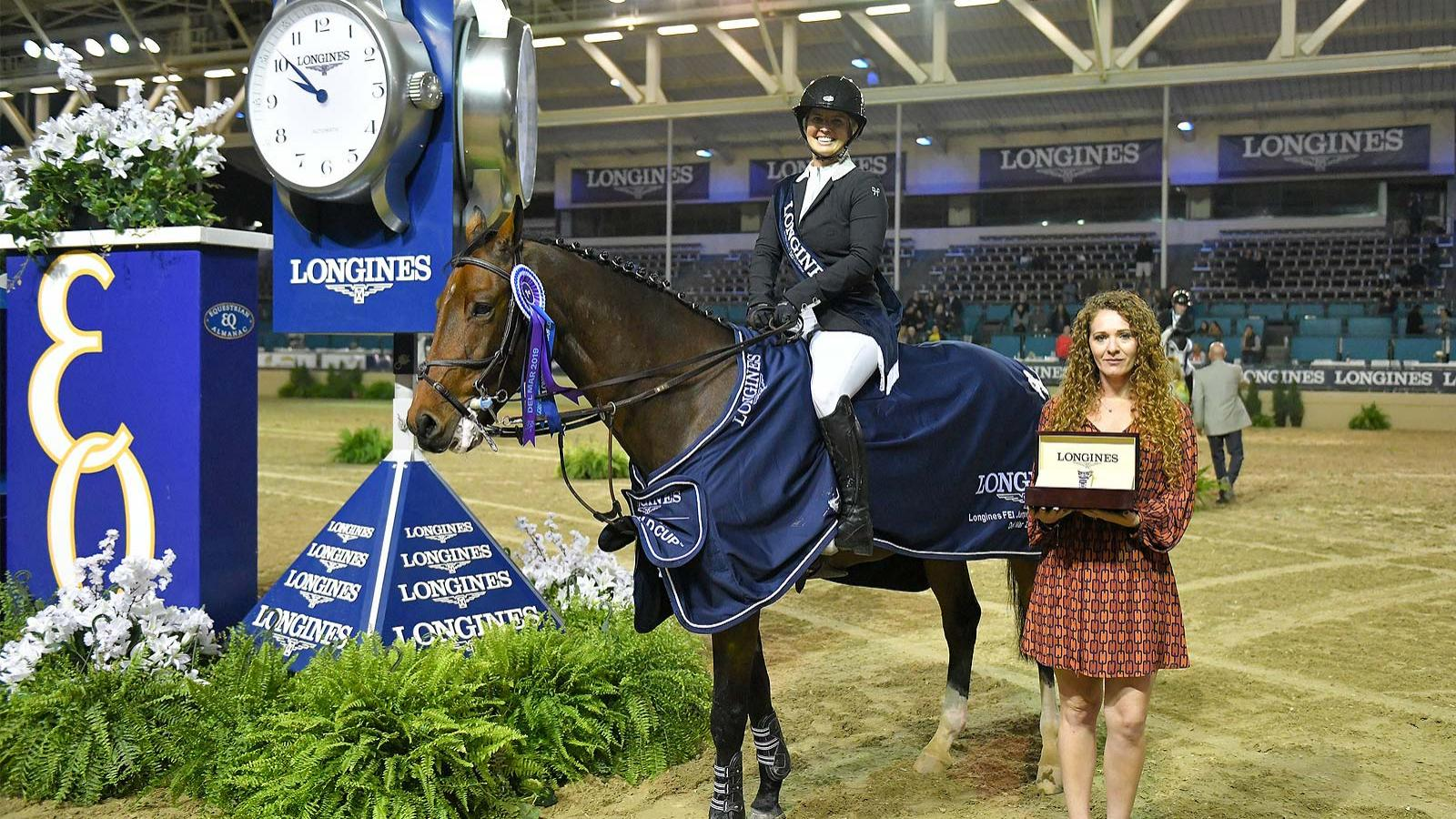 Longines FEI Jumping World Cup North American League - Del Mar; Jumping; 2019
