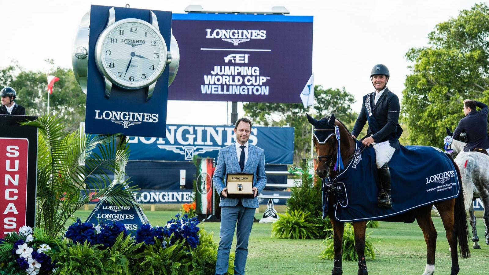 Longines FEI Jumping World Cup North American League - Wellington; Alpine Skiing; 2019