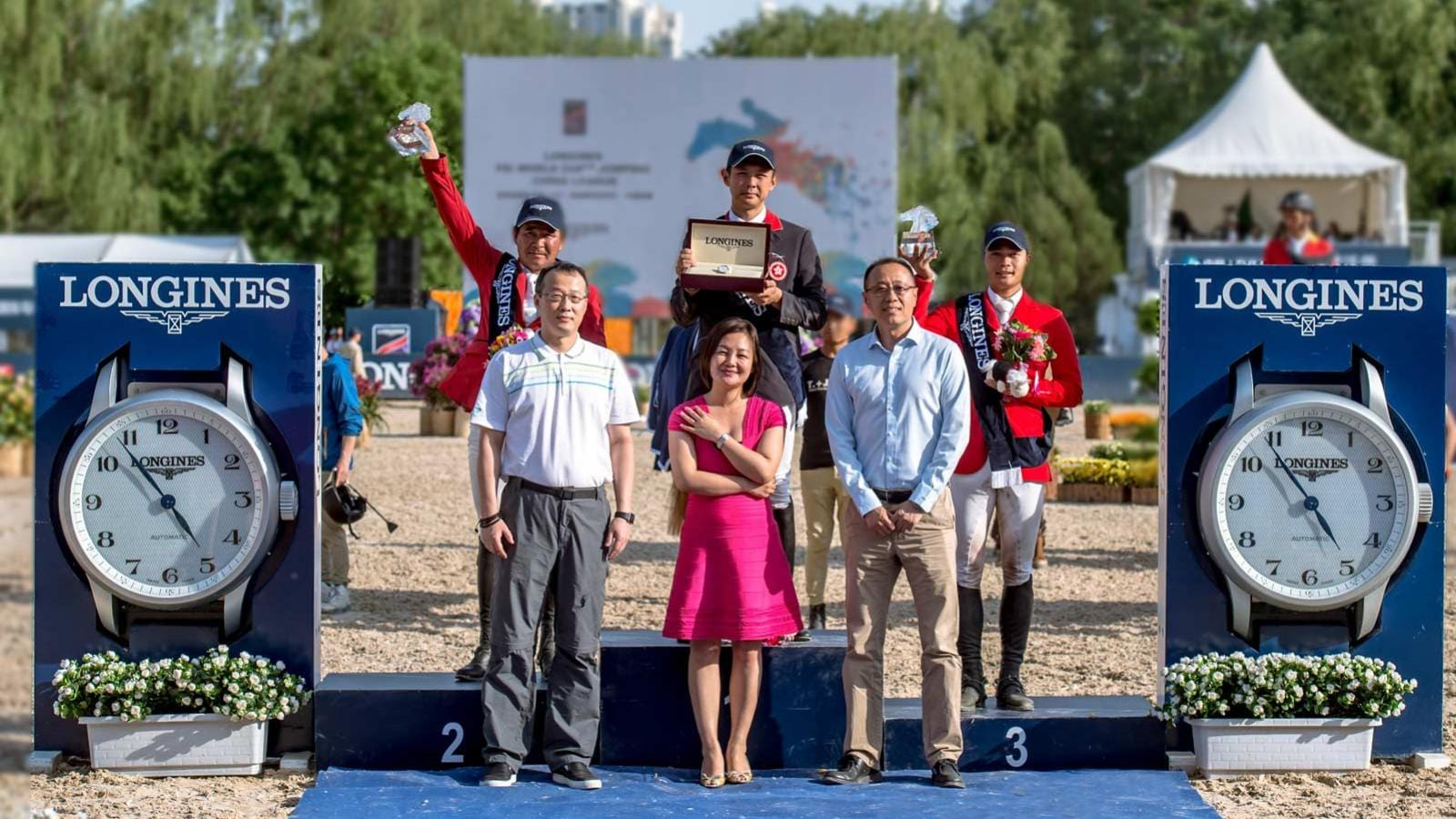 Longines FEI World Cup China League - 2nd Leg; Beijing; Jumping; 2017,pic2