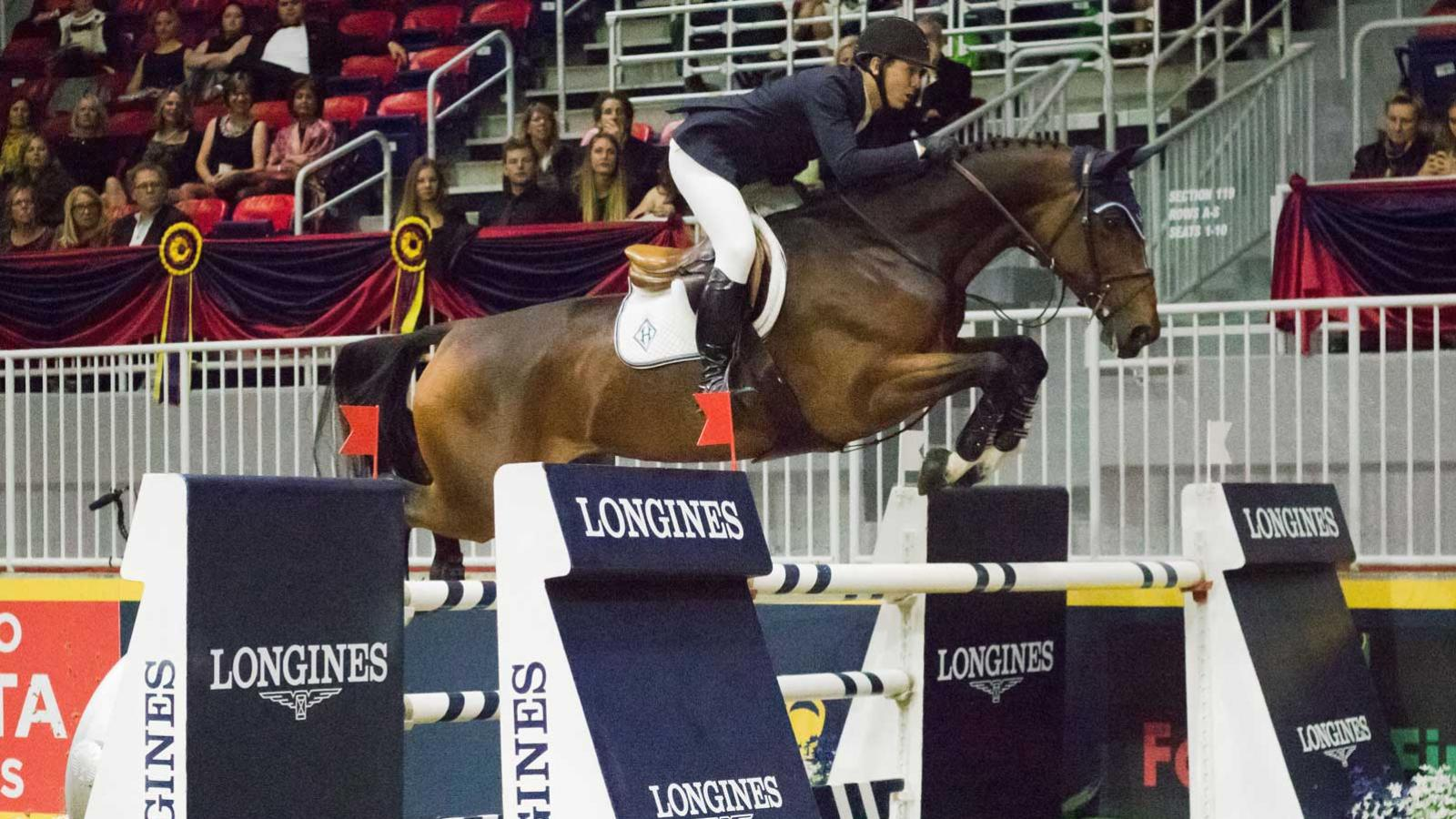 Longines FEI World Cup North American League 2016; Toronto; Jumping; 2016