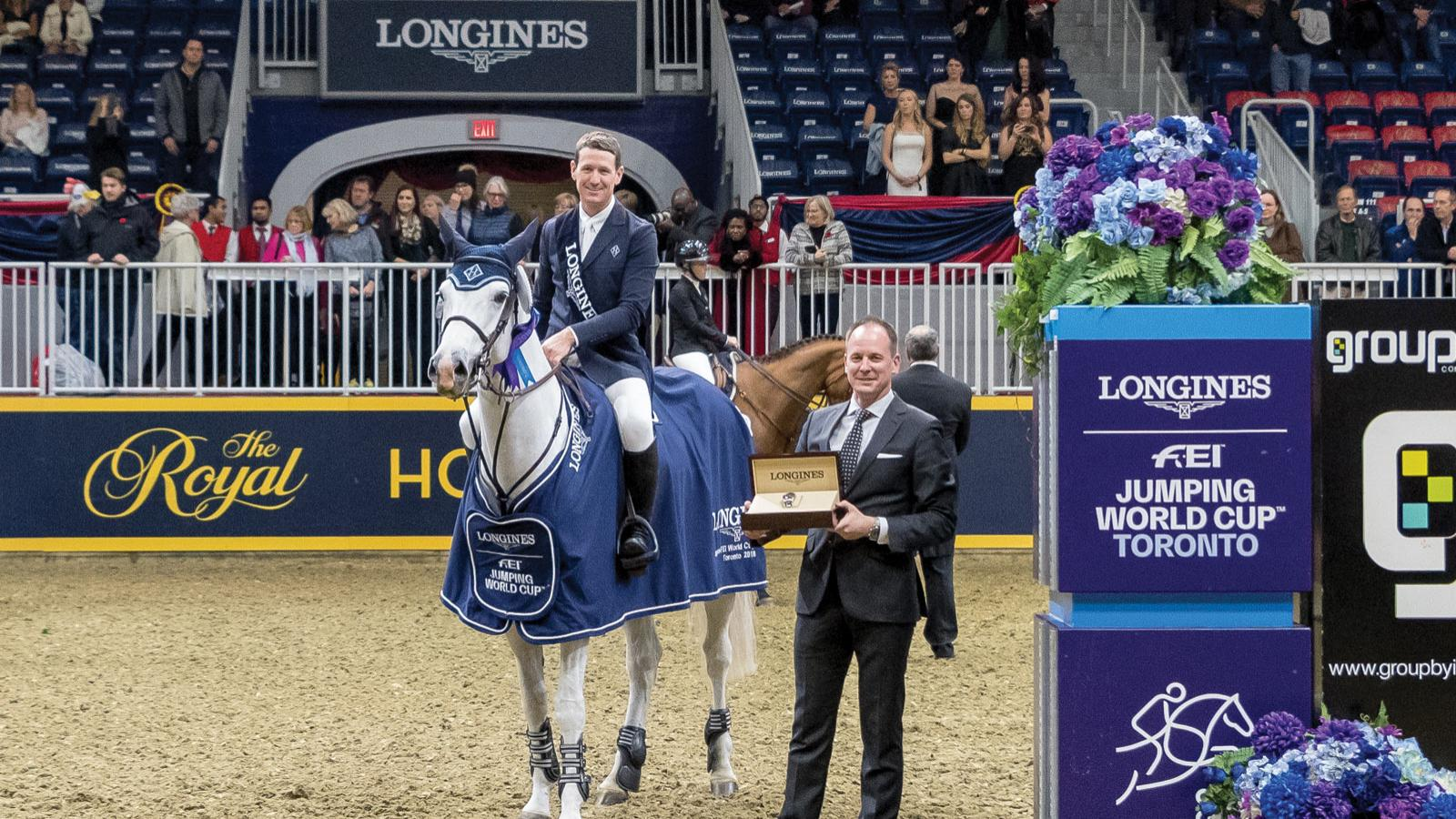 Longines FEI World Cup North American League;Toronto; 2018: Horse Jumping