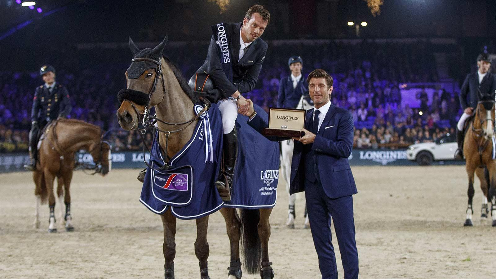 Longines FEI World Cup Western European League - Jumping Mechelen; Jumping; 2017