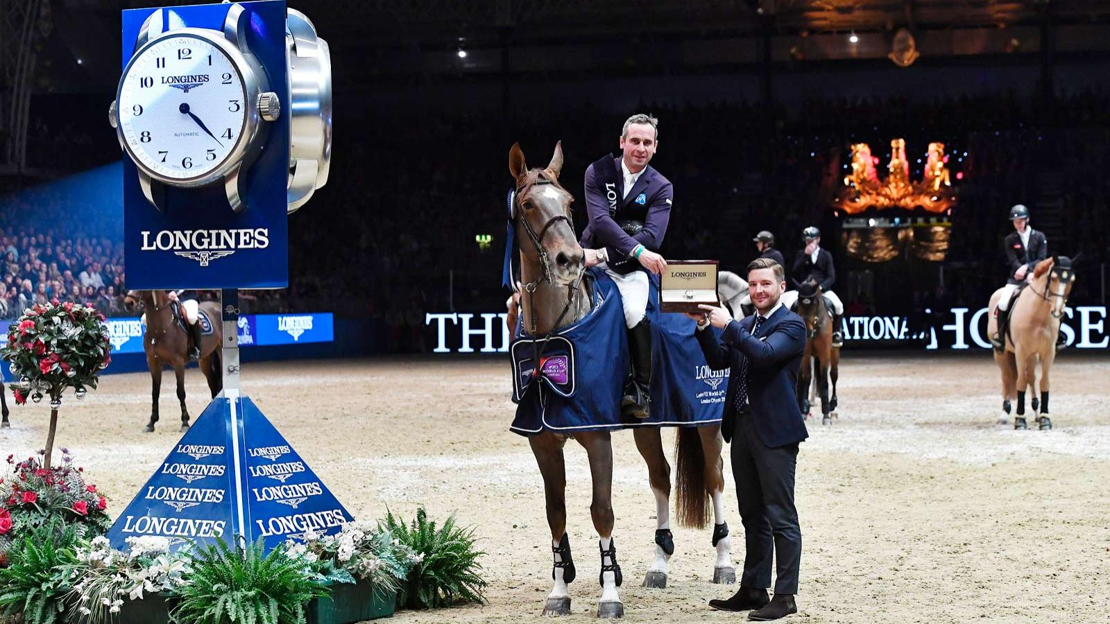 Longines FEI World Cup Western European League - London Olympia Horse show; Jumping; 2017,pic2