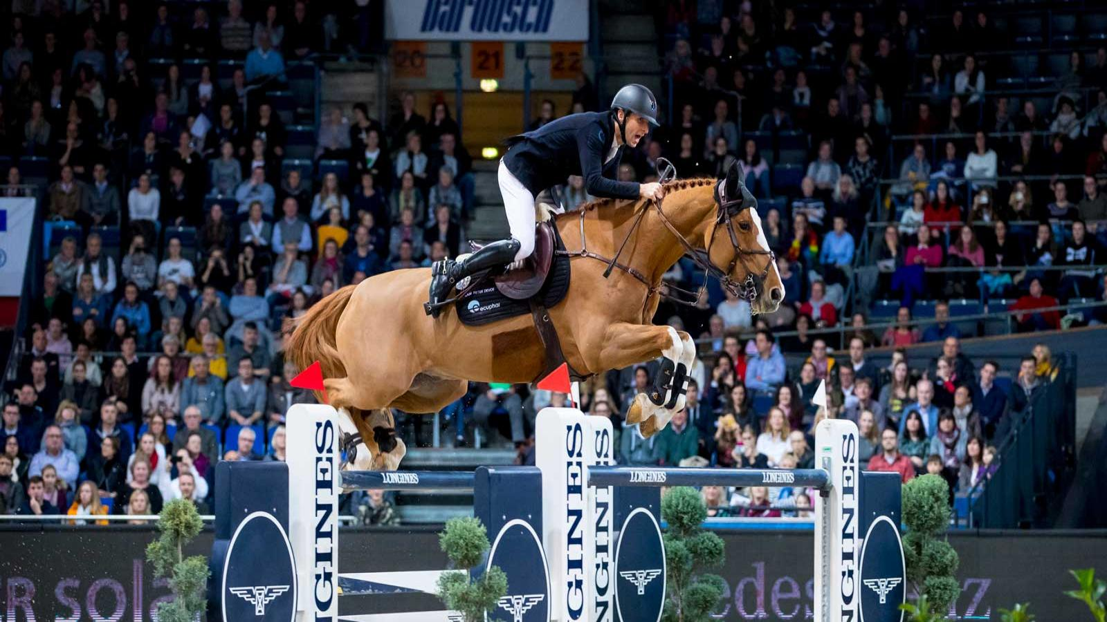 Longines FEI World Cup Western European League; Stuttgart German Master; Horse Jumping,pic2