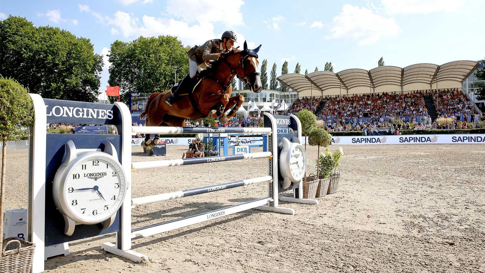 Jumping; Longines Global Champions Tour; Berlin; 2018