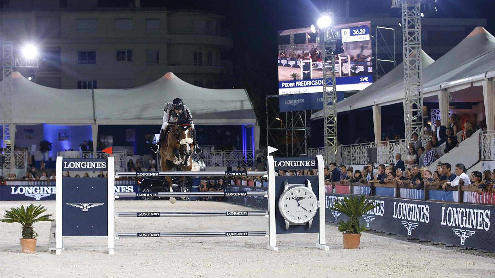 Jumping; Longines Global Champions Tour; Cannes; 2018