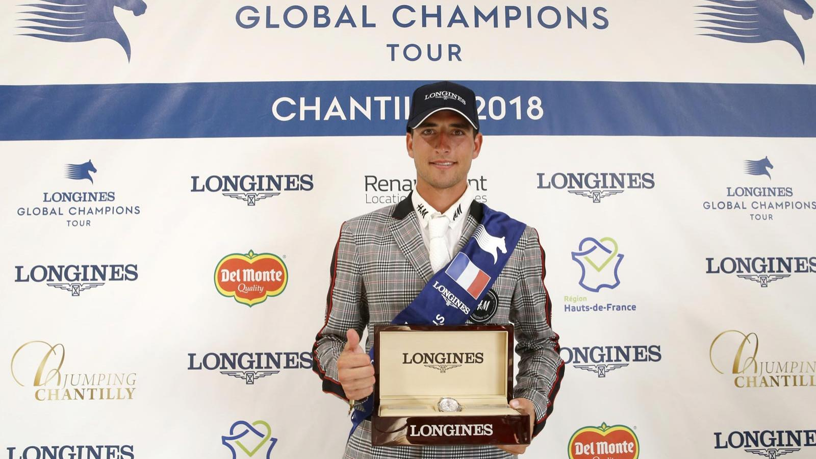 Jumping; Longines Global Champions Tour; Chantilly; 2018; 2