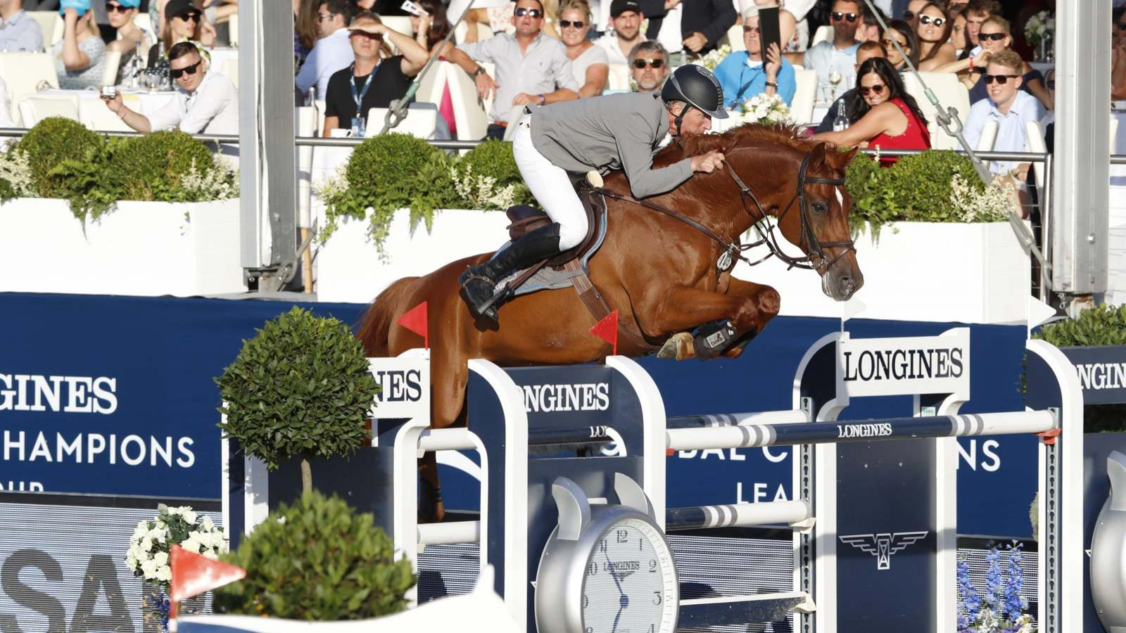 Jumping; Netherlands; Longines Global Champions Tour; 2018