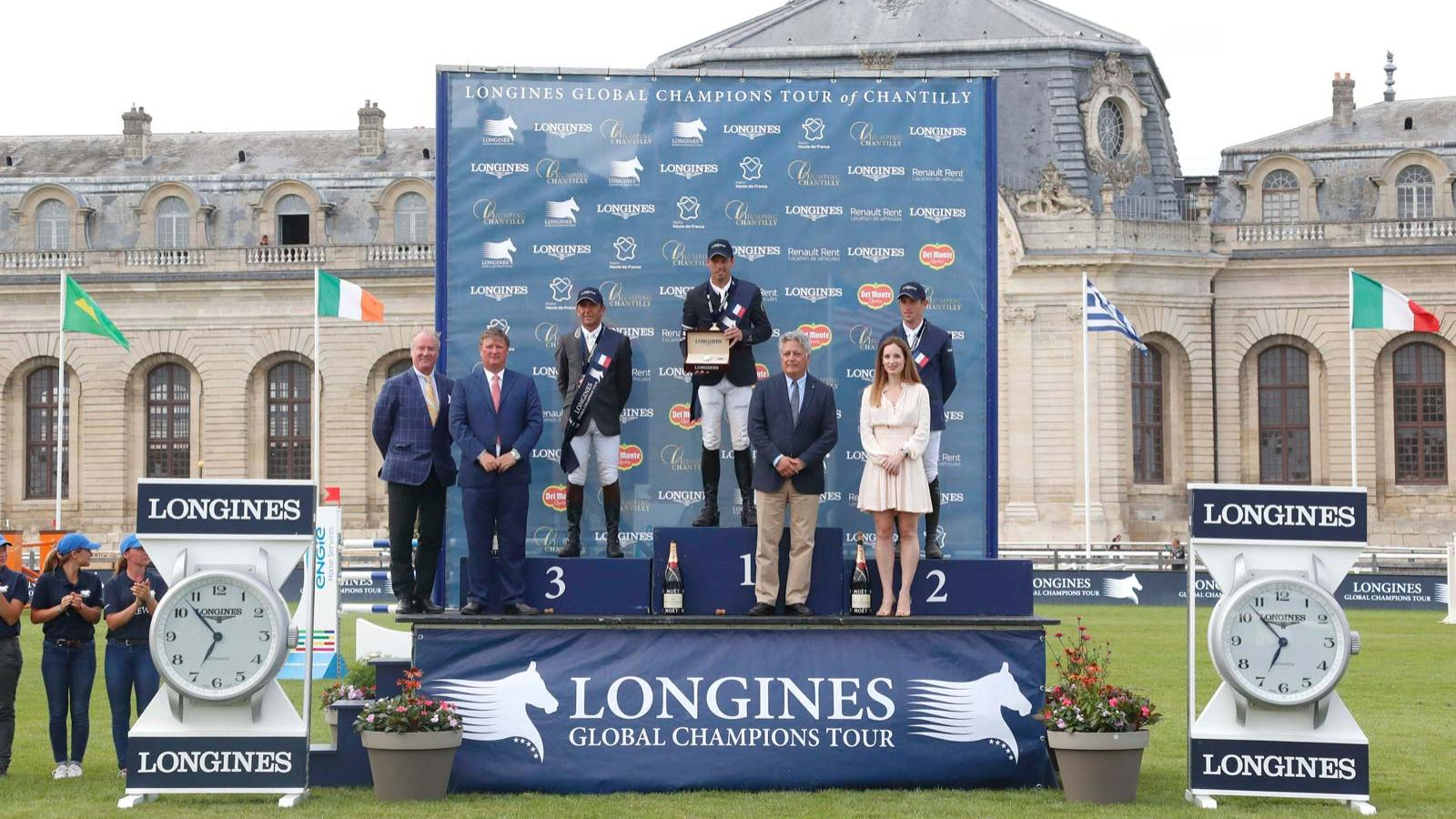 Longines Global Champions Tour of Chantilly; Jumping; 2017,pic2