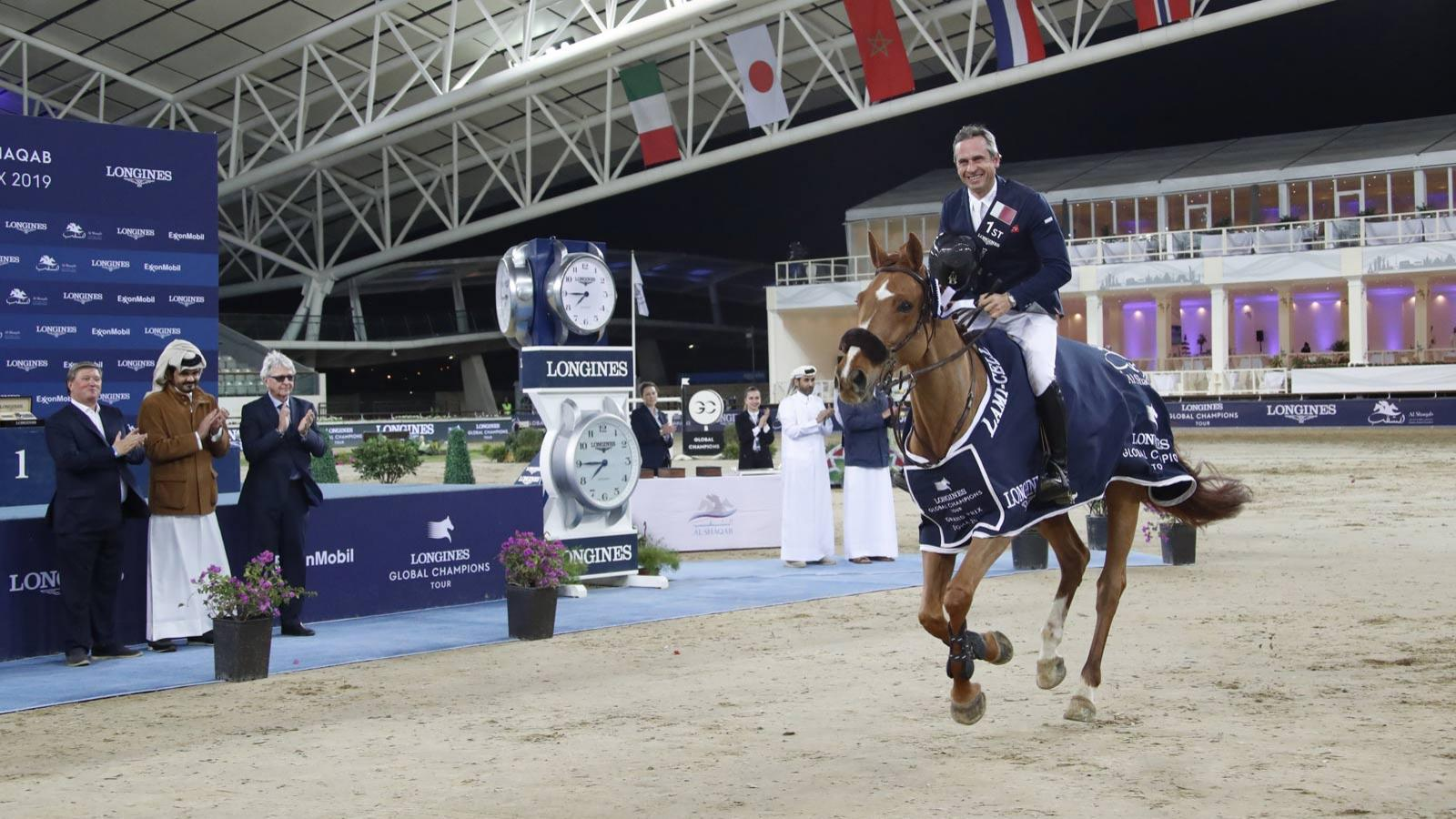 Longines Global Champions Tour of Doha; Jumping; 2019,pic2