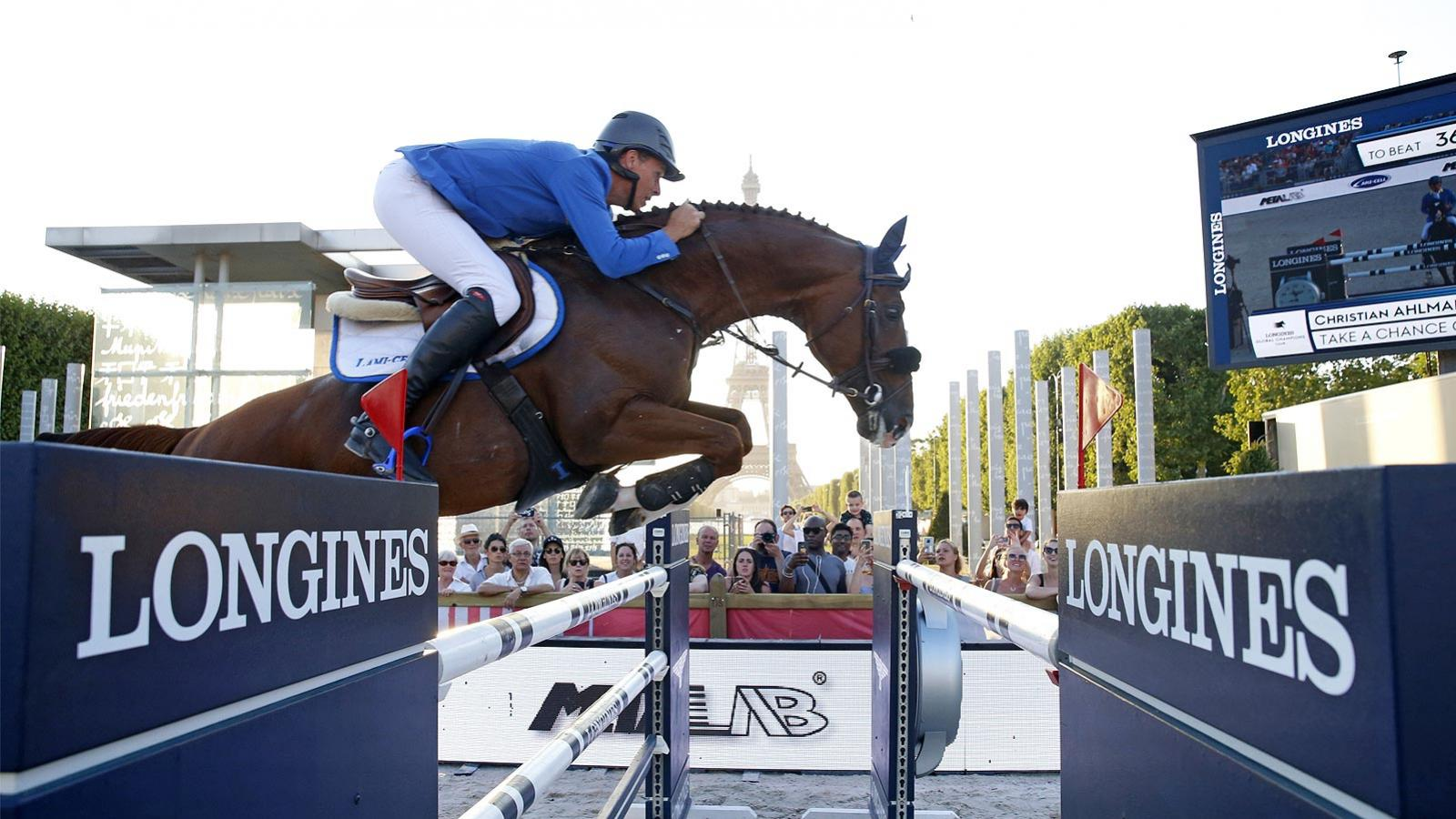 Longines Global Champions Tour of Paris; Jumping; 2019