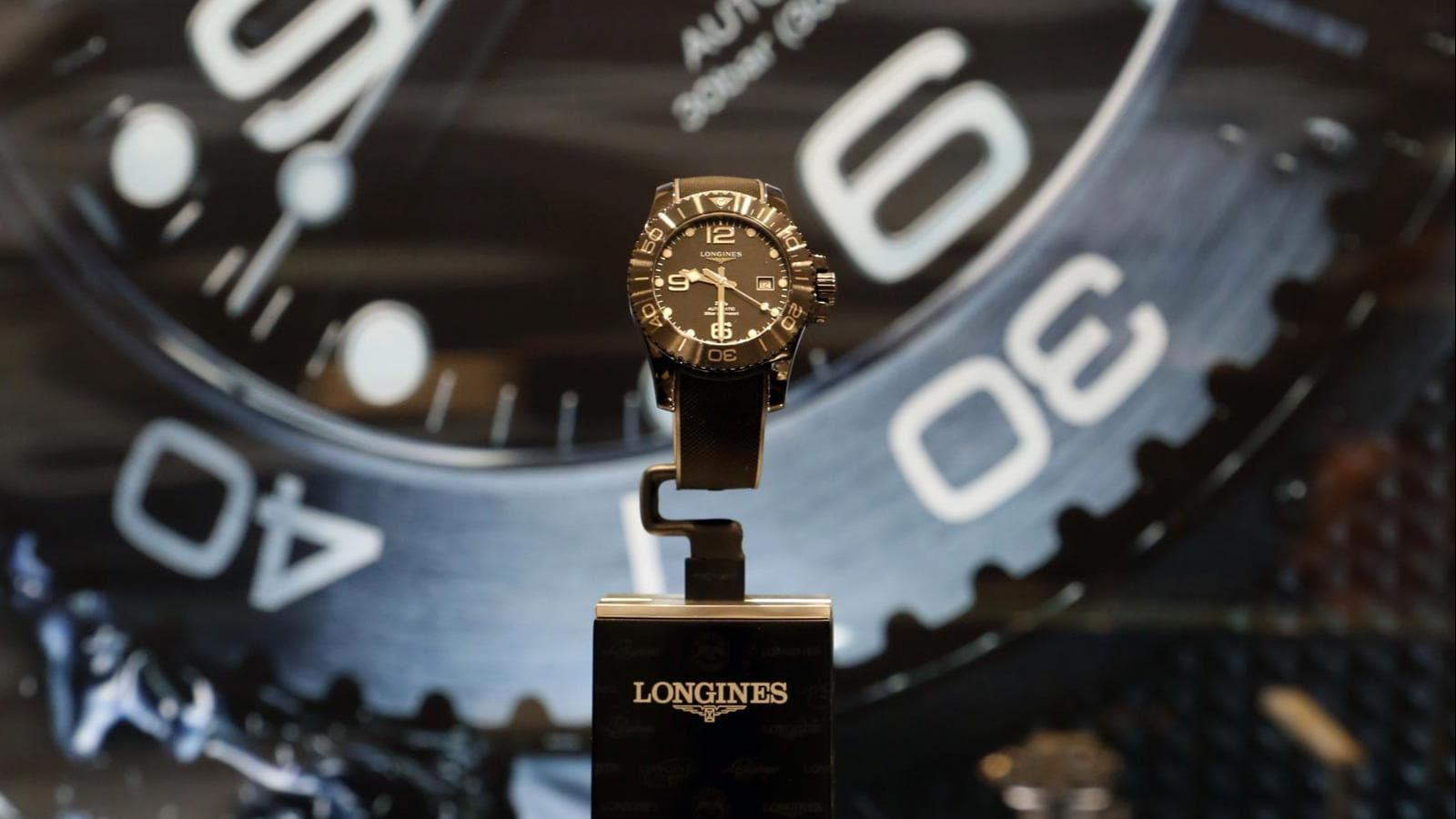 Longines; new all-ceramic; Longines' HydroConquest; Mexico City