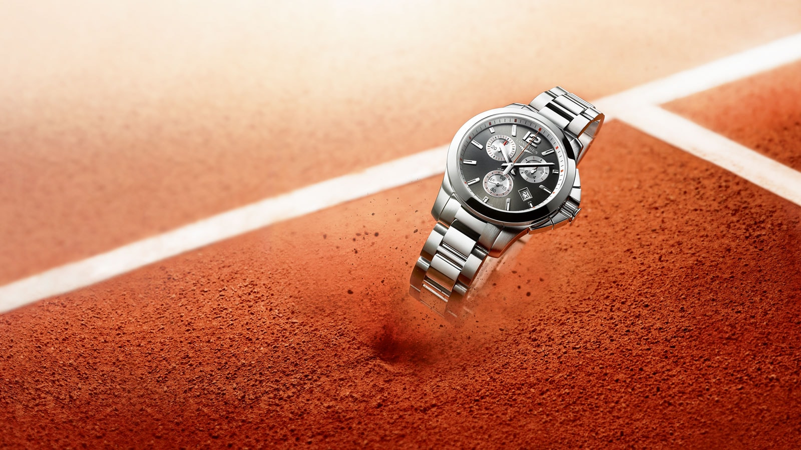 LONGINES, OFFICIAL PARTNER AND TIMEKEEPER OF THE 2017 FRENCH OPEN
