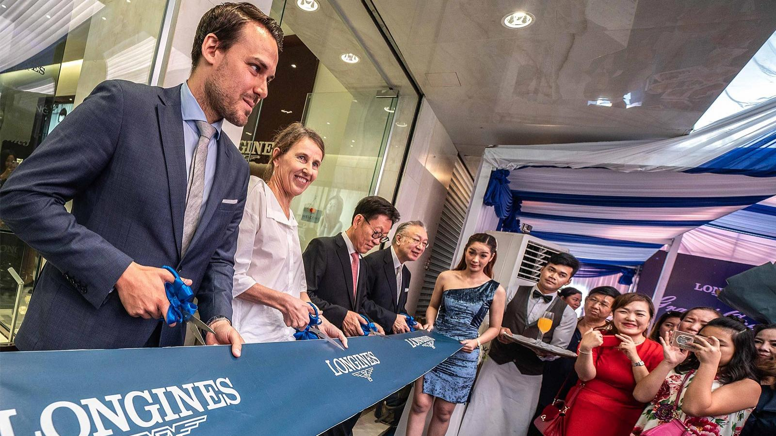 Longines; inaugurates; Phnom Penh Boutique